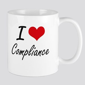 I Love Compliance Artistic Design Mugs