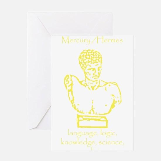 Mercury Yellow Greeting Card