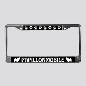 Papillonmobile License Plate Frame