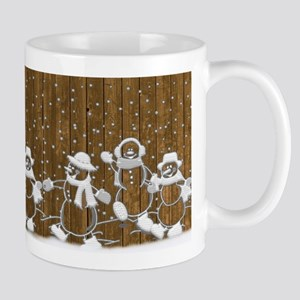 Christmas Snowmen Mugs