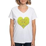 Hug your Kids Heart Women's V-Neck T-Shirt