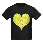Hug your Kids Heart Kids Dark T-Shirt