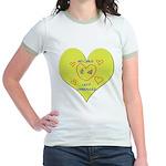 Hug your Kids Heart Jr. Ringer T-Shirt