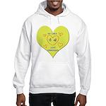 Hug your Kids Heart Hooded Sweatshirt