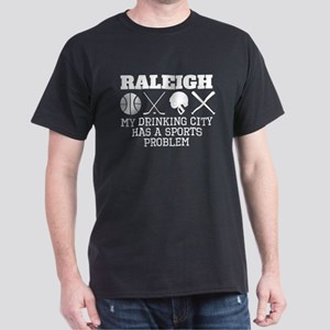 Raleigh Drinking City Sports Problem T-Shirt