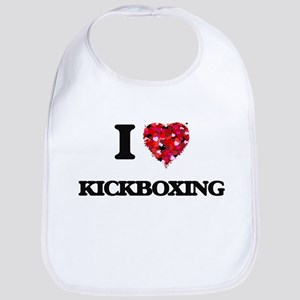 I Love Kickboxing Bib
