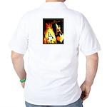 Pocket Aces Poker Golf Shirt