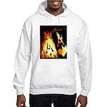 Hot Flaming Poker Aces Hooded Sweatshirt