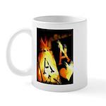 Hot Flaming Poker Aces Mug