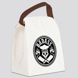 Badass Chef Black Canvas Lunch Bag