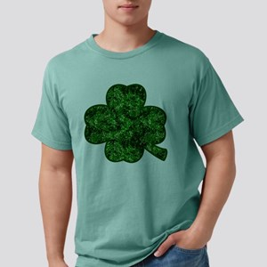 Forest Green Glitter Shamrock T-Shirt