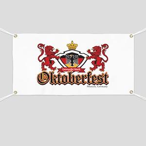 Oktoberfest Lions Banner