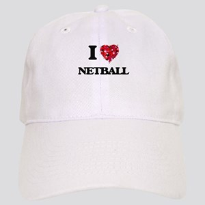 I Love Netball Cap