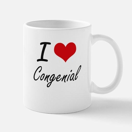 I love Congenial Artistic Design Mugs
