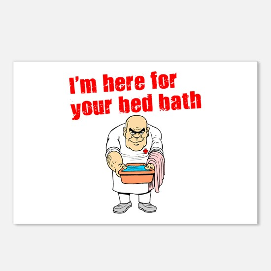 Time for Your Bed Bath! Postcards (Package of 8)