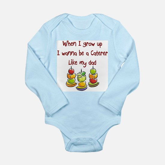 Cute Catering Long Sleeve Infant Bodysuit