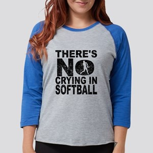 There's No Crying In Softbal Long Sleeve T-Shirt