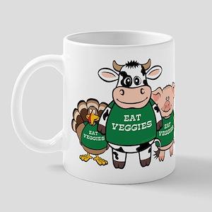 Eat Veggies Mug