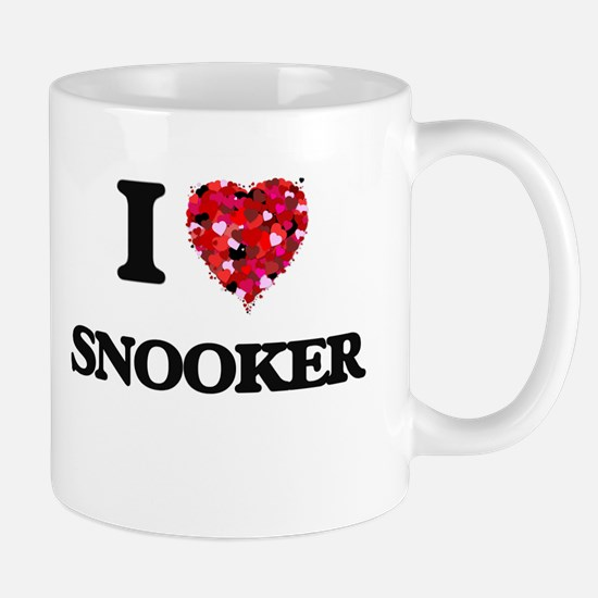 I Love Snooker Mugs