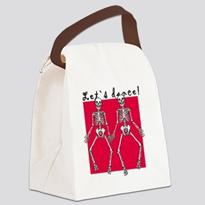 Let`s dance Canvas Lunch Bag