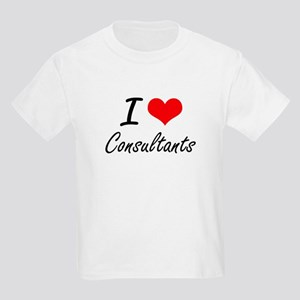 I love Consultants Artistic Design T-Shirt