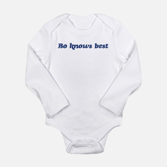 Cute Bo knows Long Sleeve Infant Bodysuit
