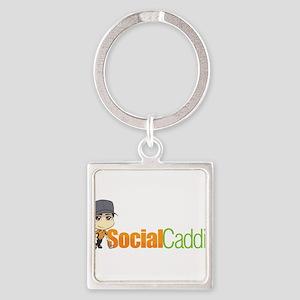 Social Caddie Logo Keychains