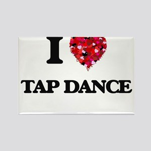 I Love Tap Dance Magnets