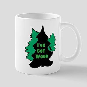 Ive Got Wood Mugs