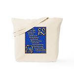 Alef and Tav Tote Bag