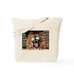 Yeshua, The Lion Of Judah Tote Bag