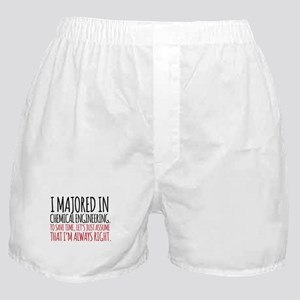 Chemical Engineer Major Boxer Shorts