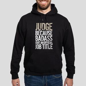 Badass Judge Hoodie (dark)