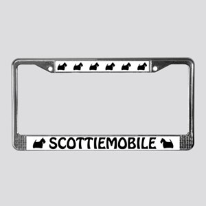 Scottiemobile License Plate Frame