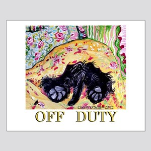 Scottish Terrier Off Duty Posters