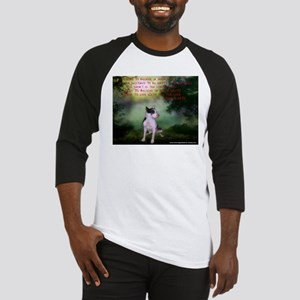 Thru the shadows (w/quote) Baseball Jersey