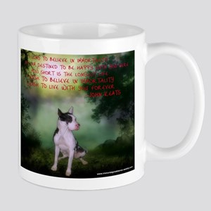 Thru the shadows (w/quote) Mugs