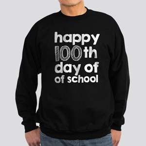 100th Day of School Sweatshirt (dark)