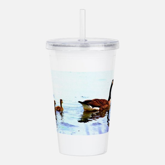 Mother Goose. Acrylic Double-wall Tumbler
