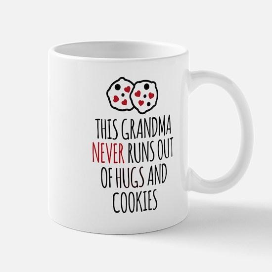 Grandma Hugs and Cookies Mugs