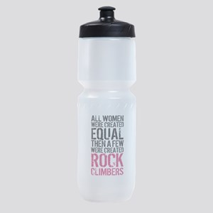 Rock Climber Women Sports Bottle