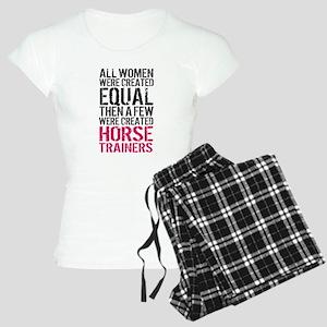 Horse Trainer Women Women's Light Pajamas