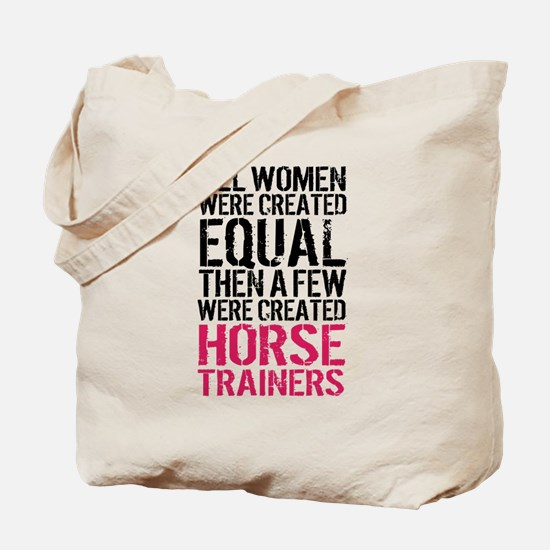 Horse Trainer Women Tote Bag