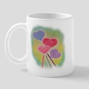Penciled Hearts Mug