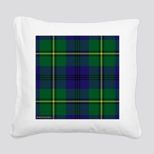 Johnstone Clan Square Canvas Pillow
