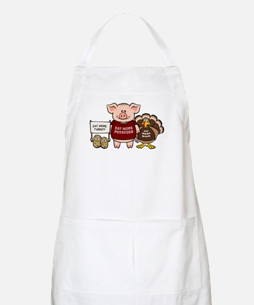Holiday Dinner Campaign BBQ Apron
