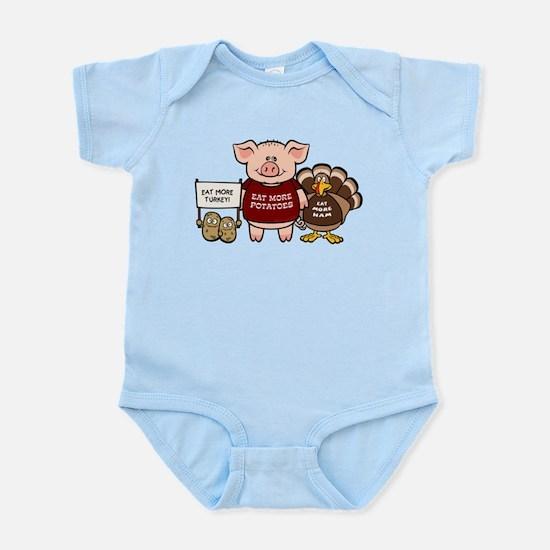 Holiday Dinner Campaign Infant Bodysuit