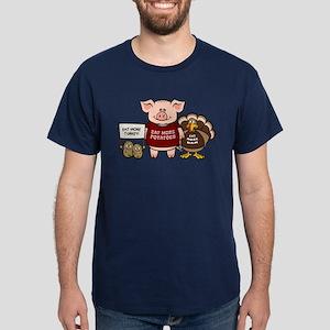 Holiday Dinner Campaign Dark T-Shirt