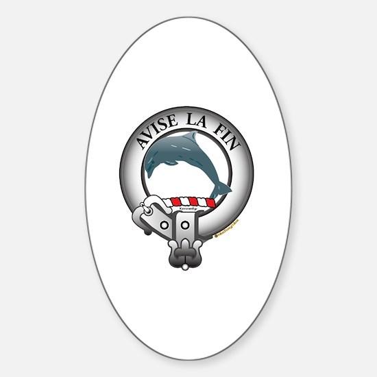 Kennedy Clan Sticker (Oval)