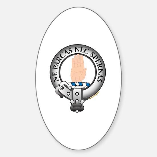 Lamont Clan Sticker (Oval)
